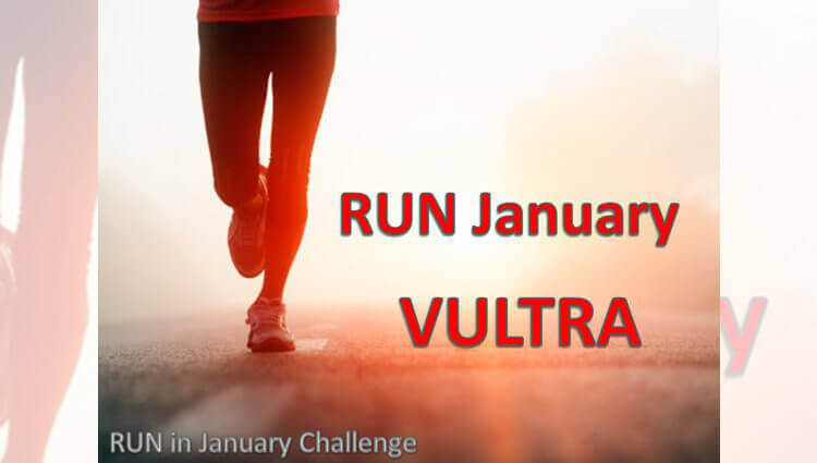VIRTUAL - RUN January VULTRA