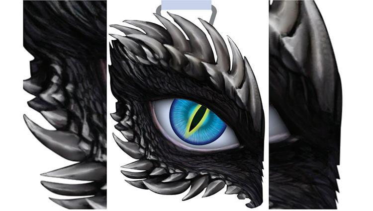 Dragon's Eye - Blue