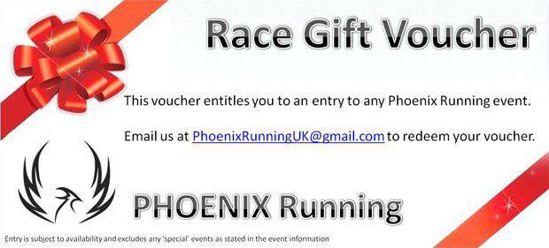 Phoenix Running Gift Vouchers