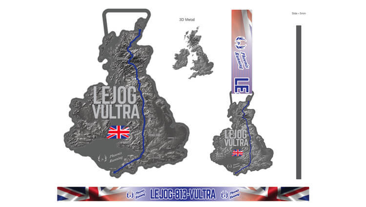 VIRTUAL - LEJOG VULTRA - Unlimited