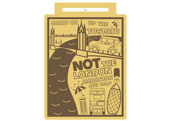 VIRTUAL - NOT the London Marathon Run