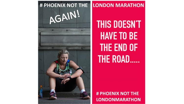 NOT the London Marathon Run AGAIN