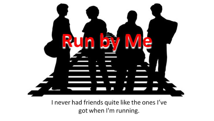 Run by Me - Katie Simpsons 100th