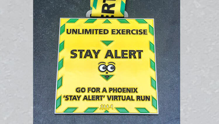 VIRTUAL - Stay Alert Run