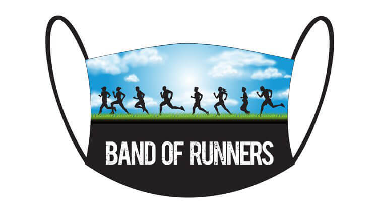 Face Masks - Band of Runners