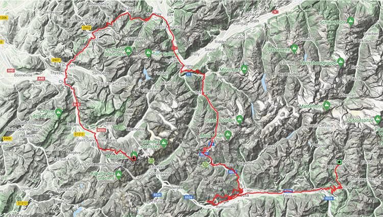 VIRTUAL - Mont Blanc Super-VULTRA
